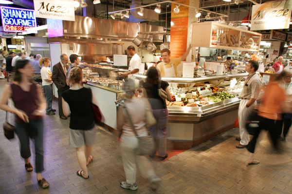 Reading Terminal Market is a stop on this three-day tour of Philadelphia.